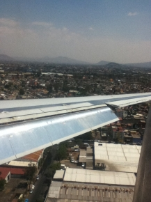 Arrival in Mexico