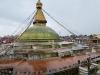 largest stupa in Nepal