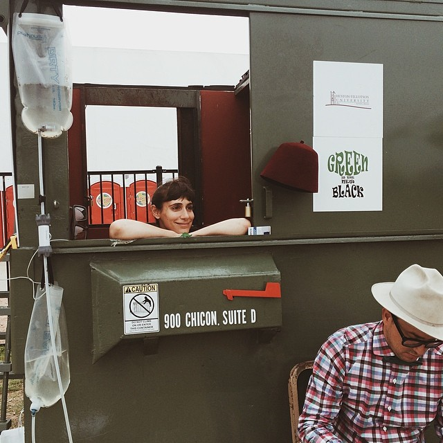 La_Doctora_is_in._In_the__dumpster_that_is._Hanging_out_and_giving__dumpsterlife_council_at__earthdayaustin._Come_out_and_see_us_right_now_