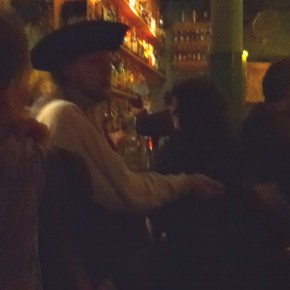 Stupid pirate at the bar