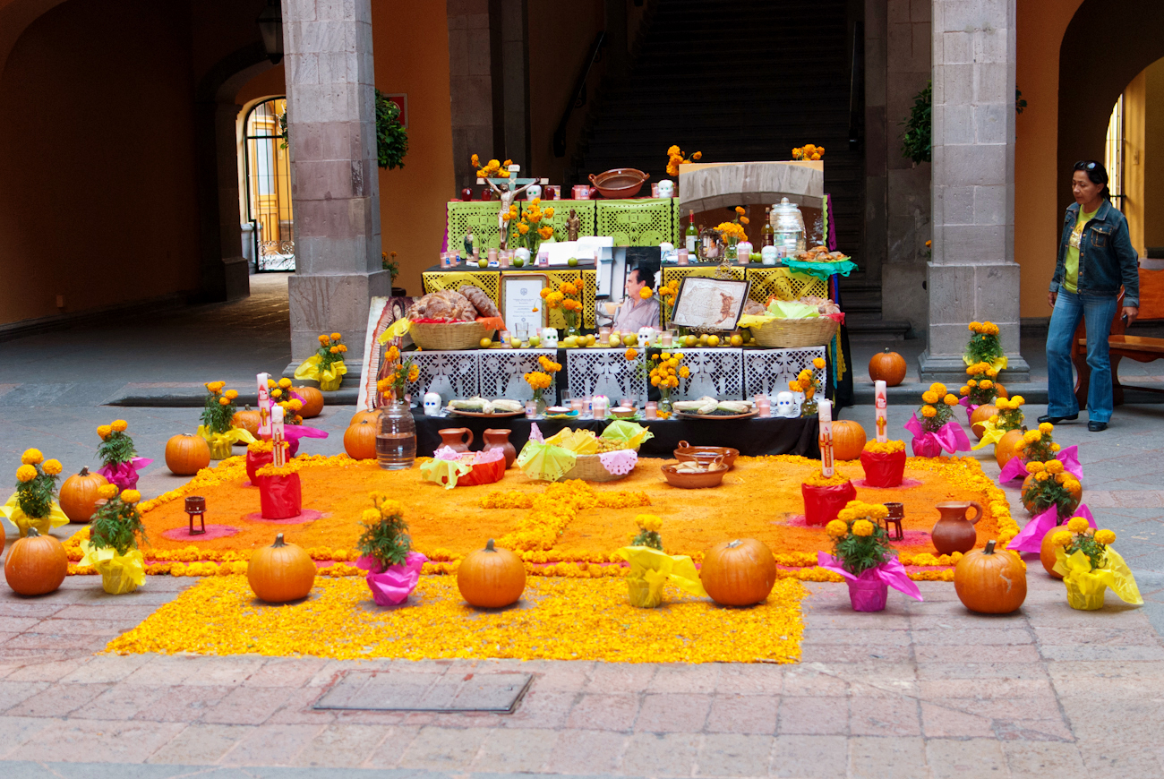 day of the dead marigolds and altars karenmagid the
