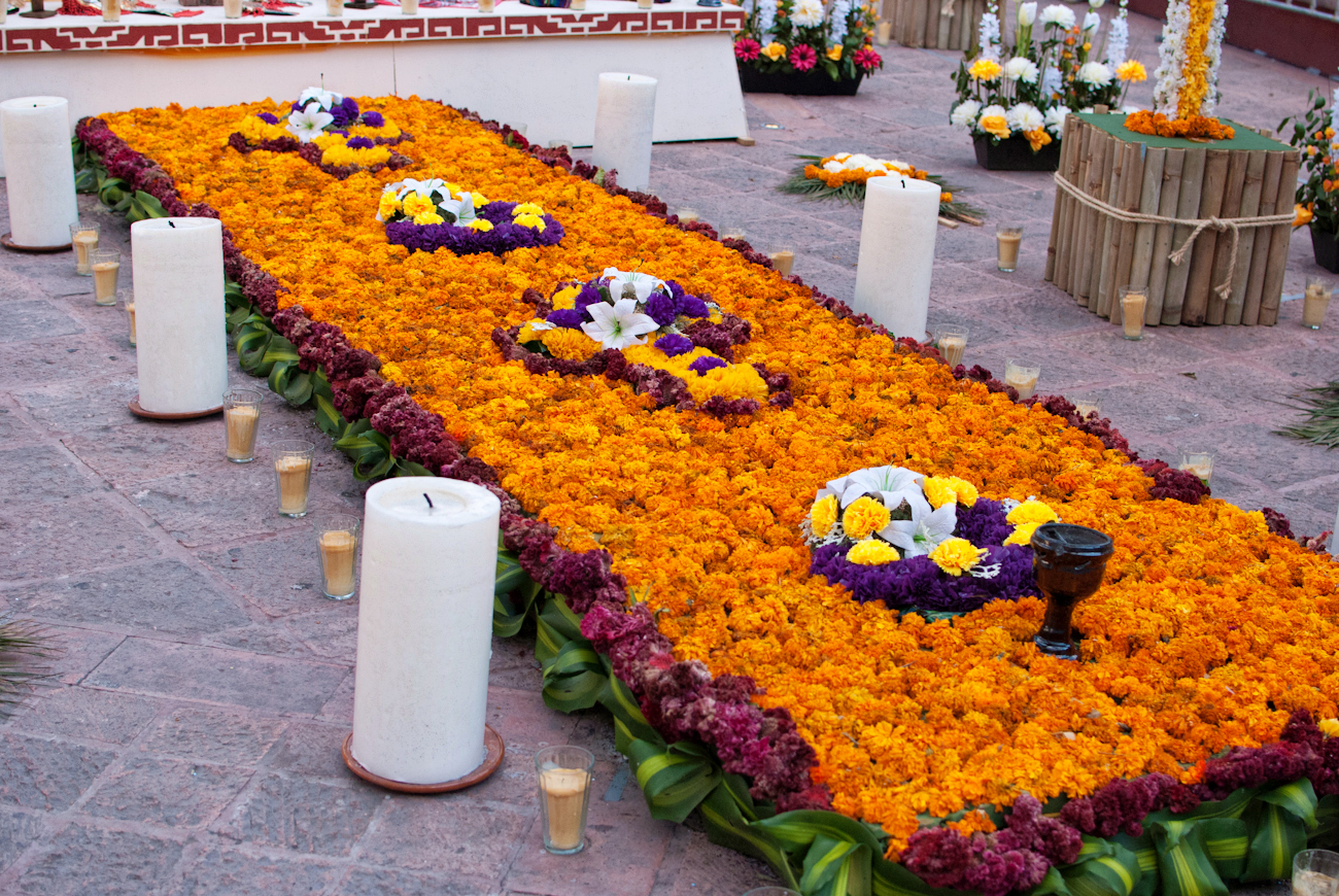Day of the Dead 2012 — Marigolds and Altars | karenmagid