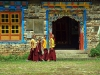 young monks at school
