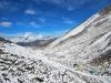 Fresh snow on Island Peak base camp