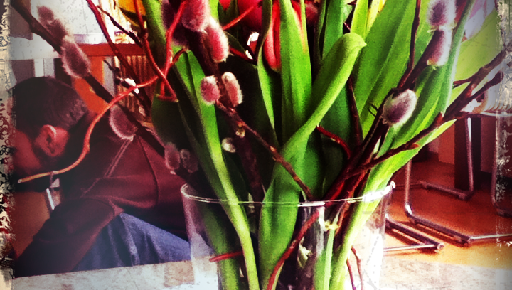 Birthday flowers/Centerpiece
