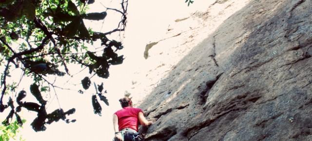 The idea was climb, camp, climb...
