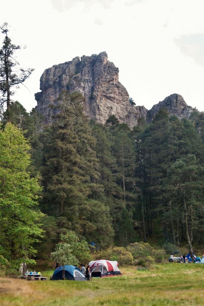 First day's climb - Las Ventanas