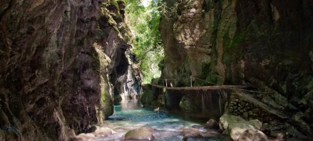 Pinal de Amoles and one Puente de Dios