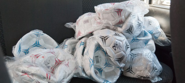 200 Soccer Balls